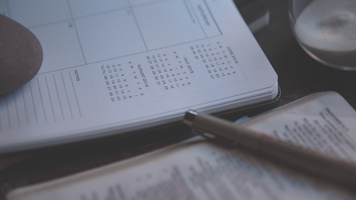 Five tips to take control of your diary!